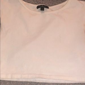 Topshop Tops - White crop top # A73